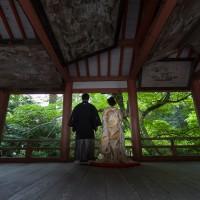 ロケーション「柞原八幡宮」の撮影例
