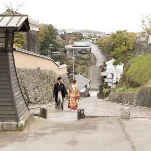 北部エリア 杵築酢屋の坂(11月14日2017年)